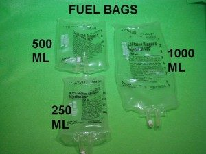 Tanks and Gas Bags