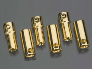 Castle Creations 6.5mm High Current Bullet Connector Set-0