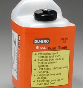 Dubro Fuel Tank - 6 Oz-0