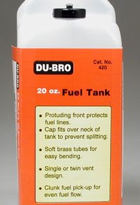 Dubro Fuel Tank - 20 Oz-0