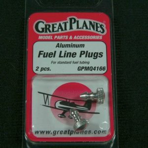 Great Planes Aluminum Fuel Line Plugs (2 per pkg)-0