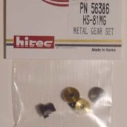 Hitec Servo Metal Gear Set HS-81-0