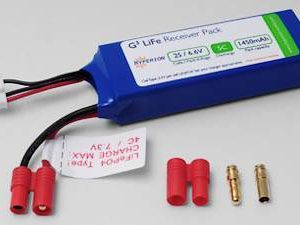 HYPERION LIFEPO4 1450 MAH 6.6V RECEIVER PACK-0