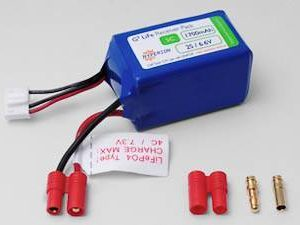 HYPERION LIFEPO4 1700 MAH 6.6V RECEIVER PACK-0
