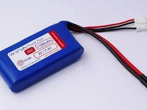 HYPERION G3 CX 1100 MAH 2S 7.4V 35/45C LIPOLY PACK-0