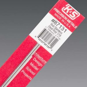K&S Round Stainless Rod 1/16 X 12-0