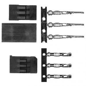 MAXX Hitec/JR Male Plug Kit-0