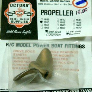 Octura 2 Blade Propeller-1650-0
