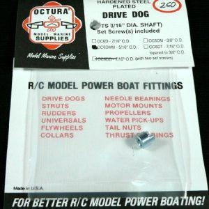 Octura Drive Dog 3/16 in. ID x 5/16 in. OD-0