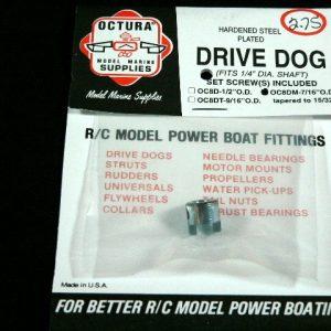 Octura Drive Dog - 1/4in. Bore x 7/16 in. OD-0