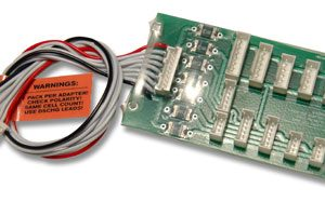 Cellpro (JST PA) PowerLab-to-ThunderPower (Molex) or PolyQuest (Yeonho) Safe Parallel Adapter-0