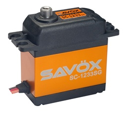 Savox SC-1233SG High Speed Coreless Steel Gear Digital Servo-0