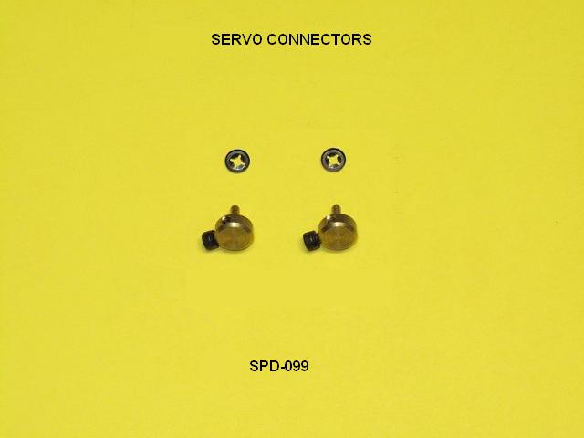 Speedmaster Brass Servo Connector 4-40-0