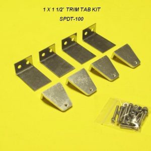 Speedmaster Trim Tab Kit-100-0