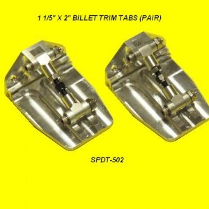 Speedmaster Billet Trim Tab Kit-0