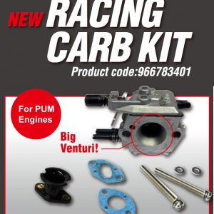 Walbro Big Bore Venturi Racing Carb Kit for PUM Engines-0