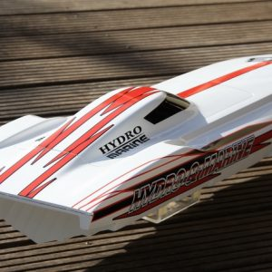 Hydro & Marine Chief 3-stage mono racing boat in carbon fiber and aramid sandwich -1794