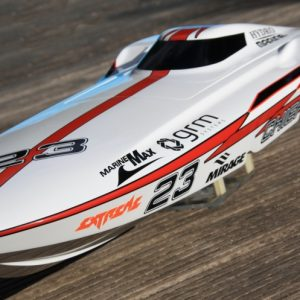 Hydro & Marine Chief 3-stage mono racing boat in carbon fiber and aramid sandwich -0
