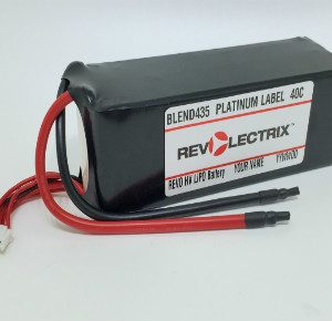Revolectrix 5800mAh 6S Lipo SPLIT PACK- 40C Platinum Label - GP/KO (JST XH) Balance Connector-0